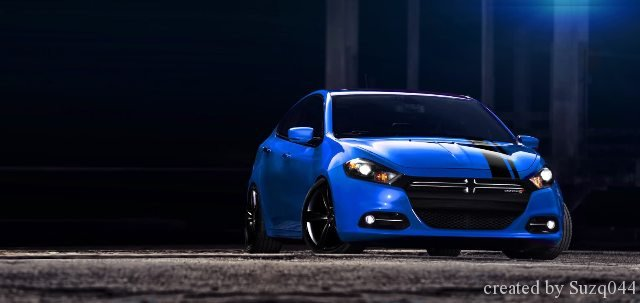 Dodge Dart SRT4 Model Photo