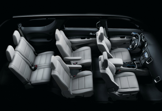 Dodge Durango 2012 Inner Photo