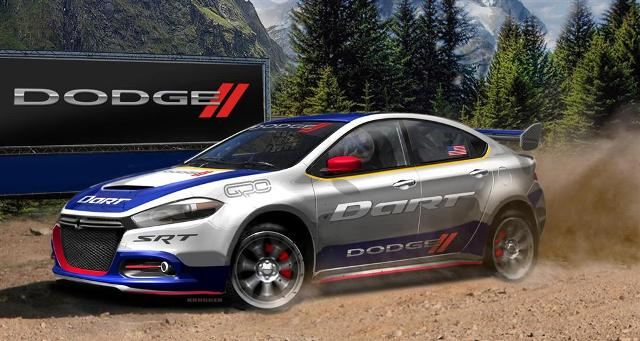 Photo of Dodge Dart 2013 at RallyCross Cahampionship