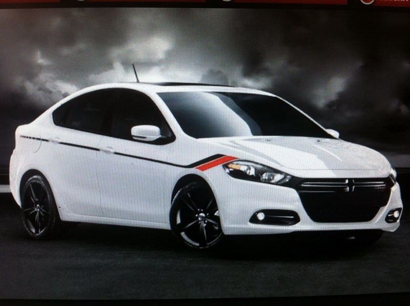 Dodge Dart Graphics Package Photo