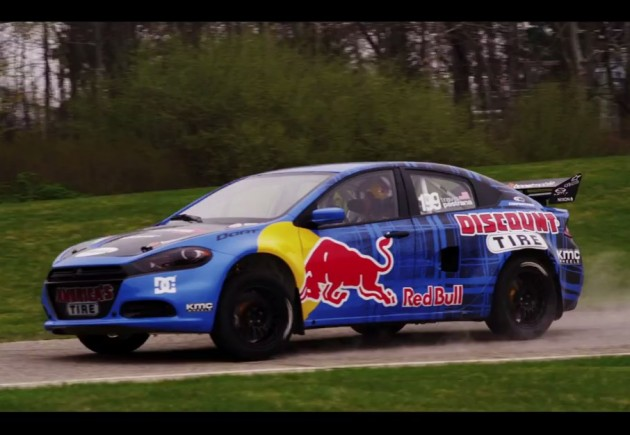 Travis-Pastrana-Dodge-Dart-Photo