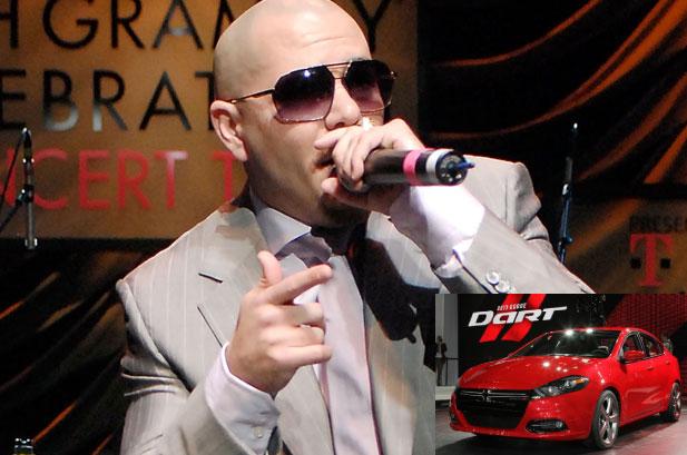 Dodge Dart 2013 and Pitbull Photo