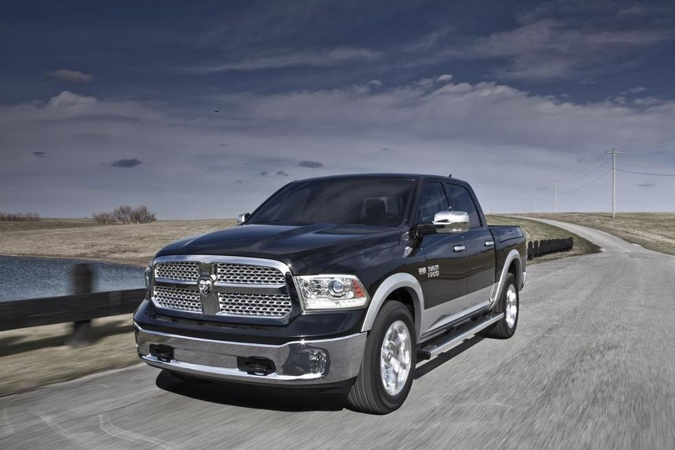 Dodge Ram Outdoorsman Model Photo