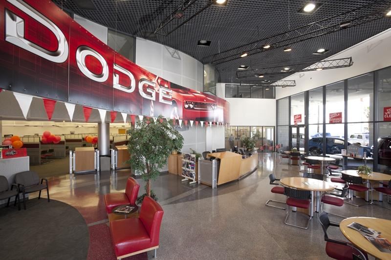 Martinsburg Dodge Showroom Photo
