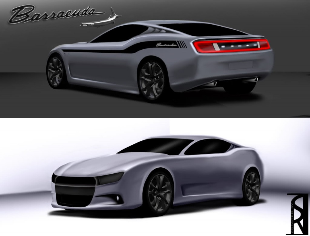 Dodge Barracuda 2015 Sketch Pic