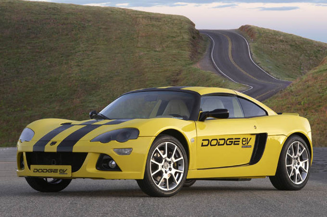 Dodge EV Car Model Photo