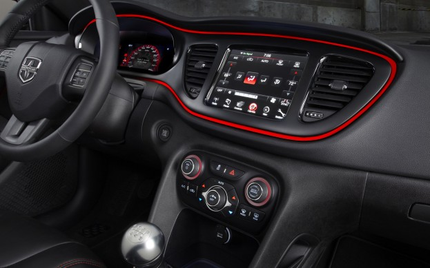 Dodge Dart New Interior Pic