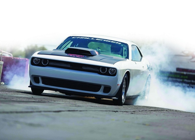 2015 The new impressive Dodge Challenger Drag Pak pic