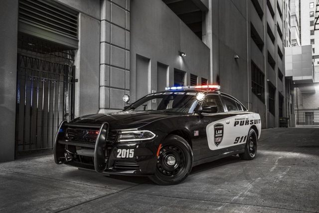 2015 New aggressive Dodge Charger Pursuit police car pic