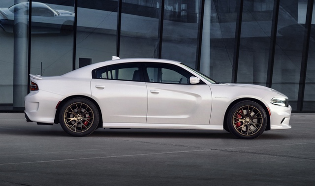 2015 The impressive powerful sedan Dodge Charger SRT Hellcat pic