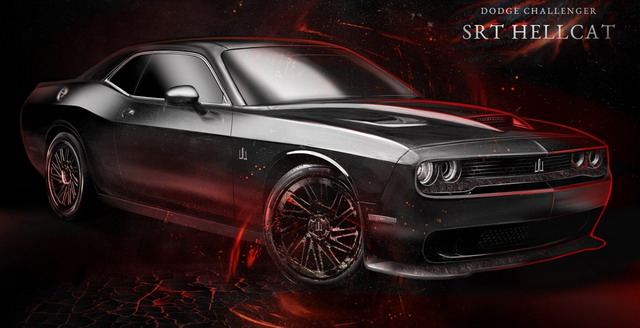 2016 Charged coupe Dodge Challenger SRT Hellcat by Carlex design pic