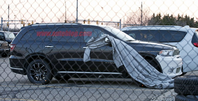 2018 Charged Dodge Durango SRT spy photo