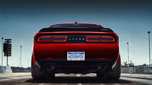 Dodge Challenger SRT Demon will debut in April pic