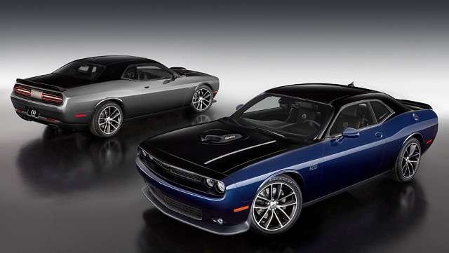 The exterior view of Mopar 17 Dodge Challenger photo