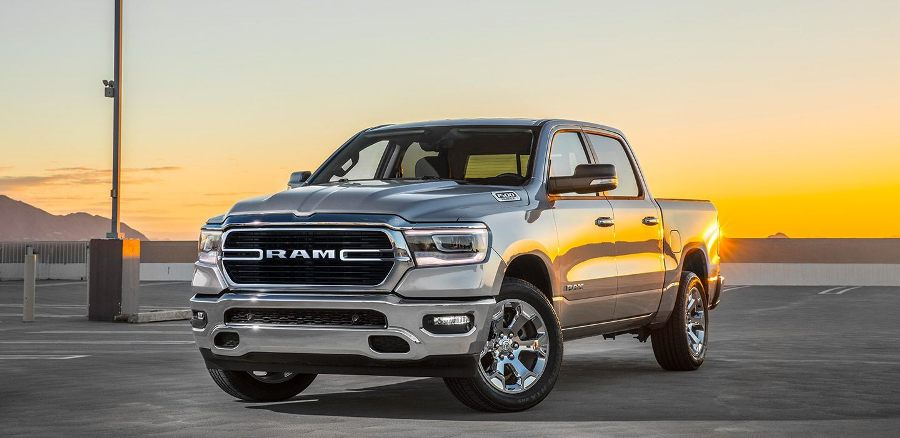 New Dodge RAM 1500 luxurious exterior image