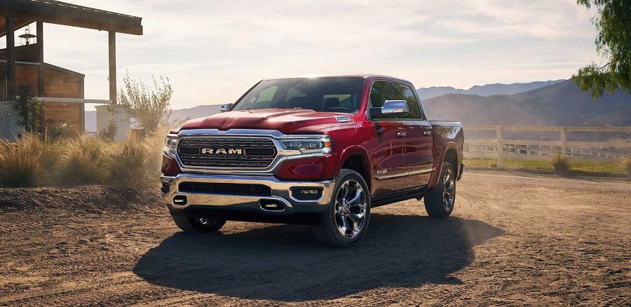 2019 Dodge RAM 1500 hot front view pic