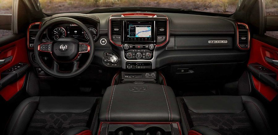 2019 Dodge RAM 1500 leather salon image
