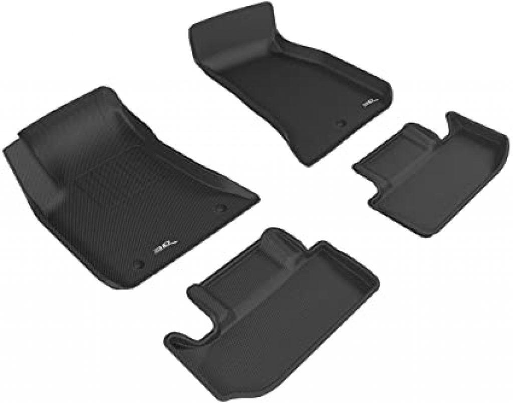 Black 3D MAXpider Complete Set Custom Fit All-Weather Floor Mats