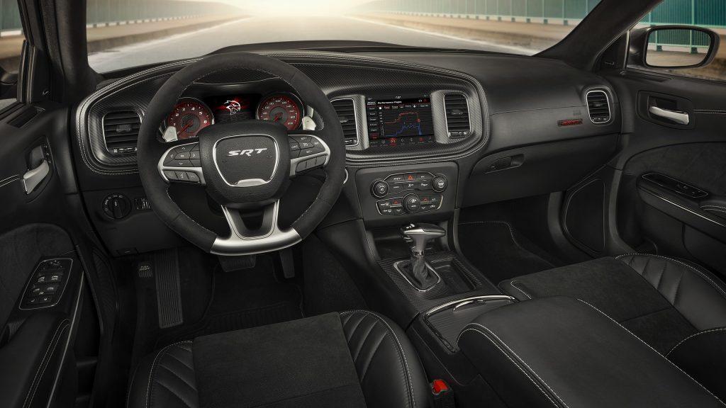2021 Dodge Charger SRT Hellcat Widebody interior
