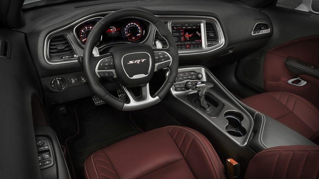 2021 Dodge Challenger SRT Hellcat Redeye Widebody interior
