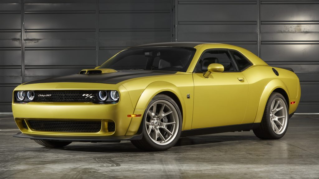 2021 Dodge Challenger RT Scat Pack Widebody 50th Anniversary Edition